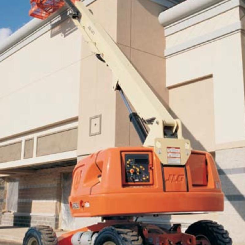 40 Foot Straight Mast Boom Lift Rental - JLG 400S