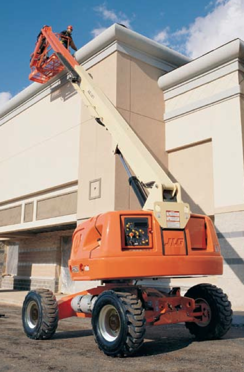 Straight Mast Boom Lifts - JLG 400S