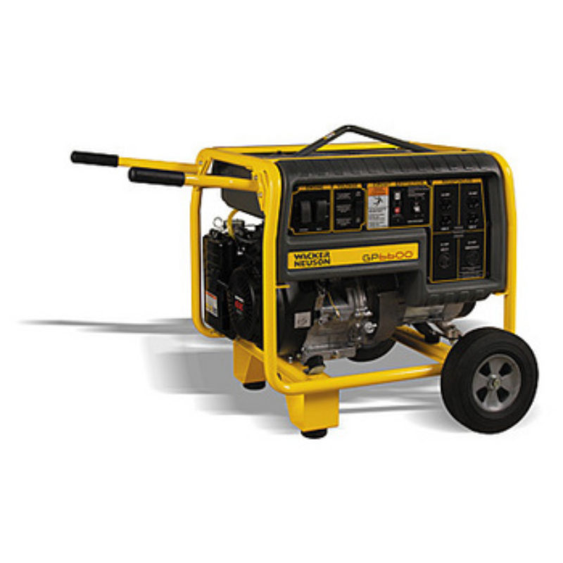 The Duke Company -- 6,600 Watt – Portable Generator Rental – Wacker-Neuson GP6600A
