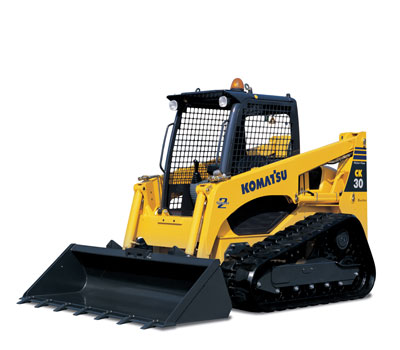 Skid Steer Loader Rental - Komatsu CK30-1 With Tracks