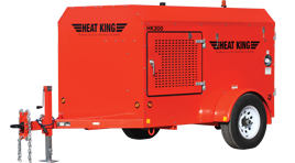 290,000 BTU Ground Thawing Heater - HeatKing HK300