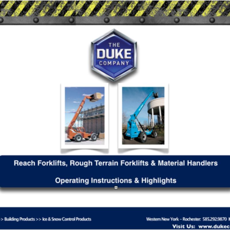 Reach Forklift Rental