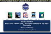 Rock Salt Distribution in Rochestert