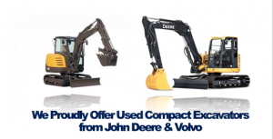 Buy Used Compact Excavators John Deere Volvo Rochester NY Ithaca NY