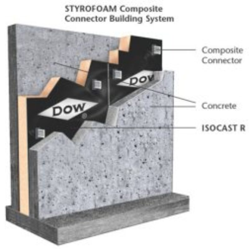 ISOCAST R Insulation for Exterior Precast - Construction Supply - Building Materials - by Dow