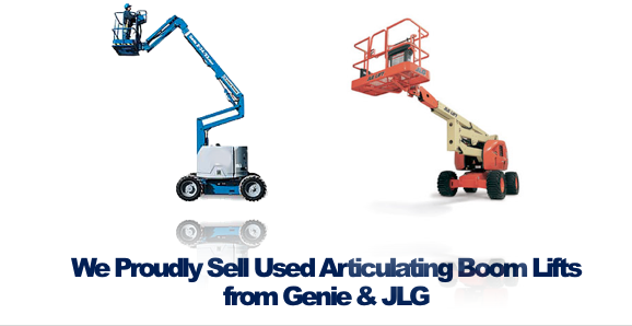 Used Articulating Boom Lifts JLG Genie Rochester NY Ithaca NY