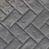 Concrete Stamping Tools - Herringbone Used Brick Thin-Line Pattern by Increte SHBS SOO1