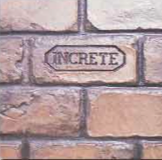 Concrete Stamping Tools - Running Bond Used Brick Thin-Line Pattern by Increte SRBT SOO1