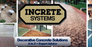 Increte Decorative Concrete Solutions in Rochester NY, Ithaca NY and Western New York