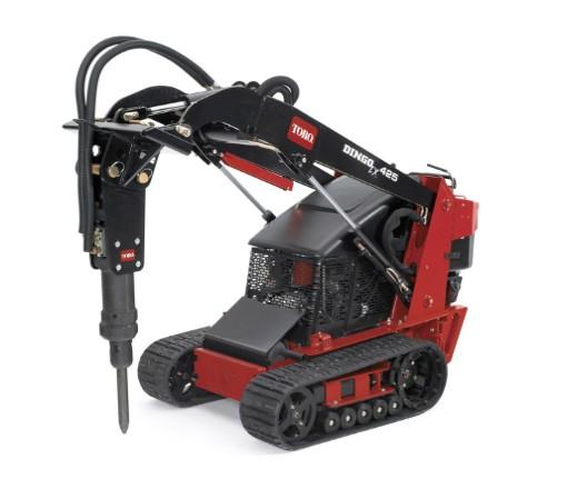 Hydraulic Breaker Rental - Attachment - Toro Dingo