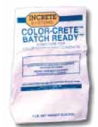 Increte Integral Color - Color Crete Powder