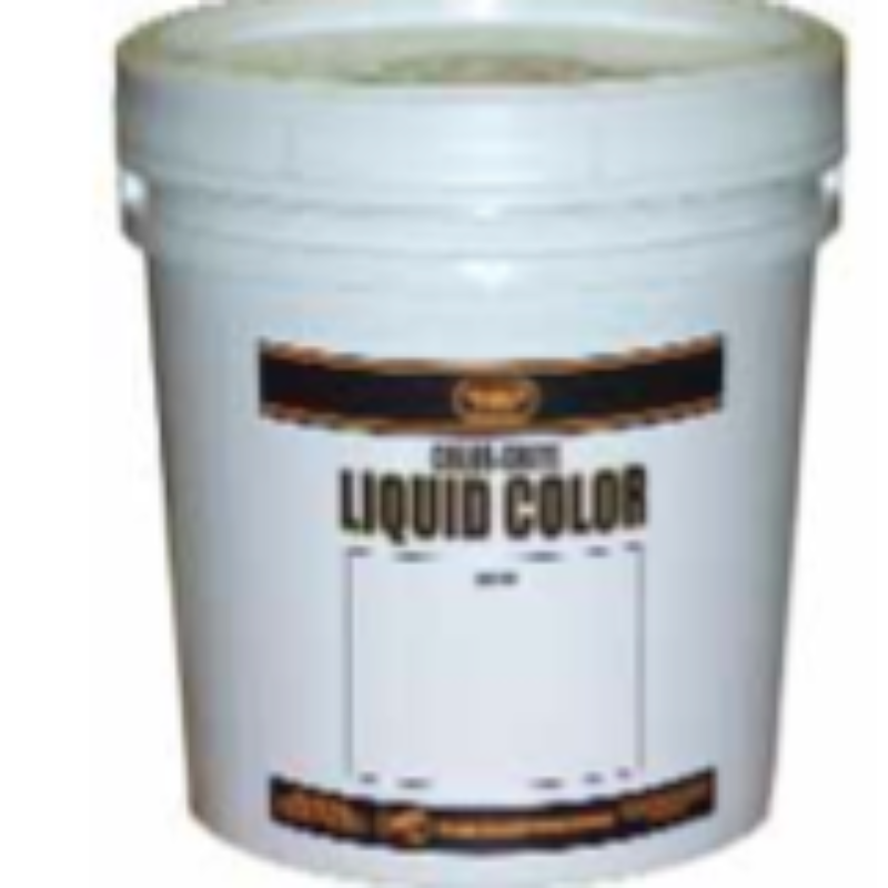 Increte Integral Color - Color Crete Prepackaged Liquid