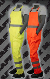 Safety Bib Overalls - ANSI 107-2010 Class 3 Bib Overalls
