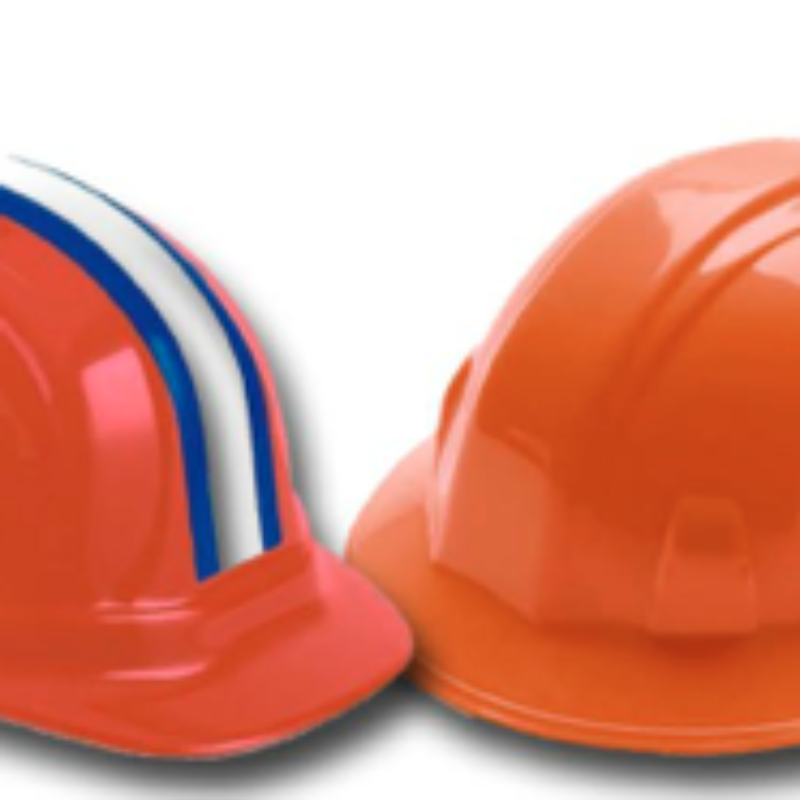 Safety Hardhats - 4 Point & 6 Point Ratchet Style