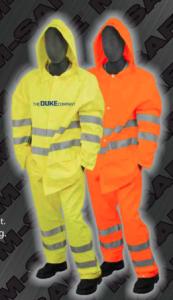 Safety Rain Jacket - ANSI 107-2010 Class 3 Rain Jacket