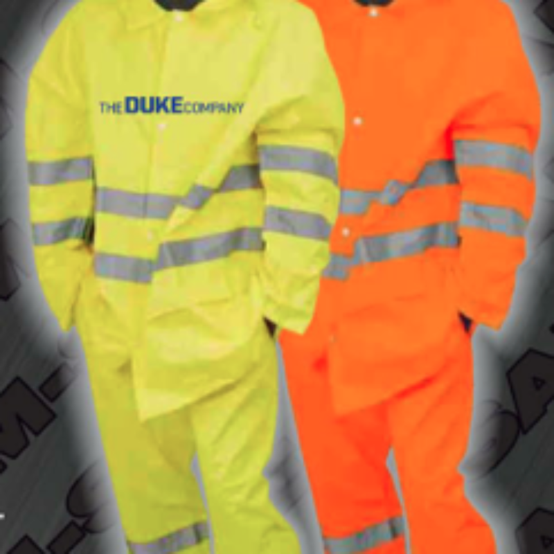 Safety Rain Trousers - ANSI 107-2010 Class 3 Rain Pants