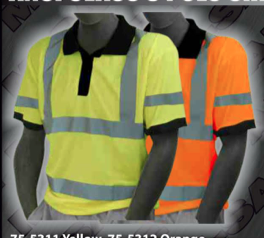 Safety Shirts - ANSI Class 3 Polo Shirt