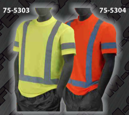 Safety T-Shirt - ANSI Class 3 T-Shirts