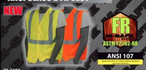 Safety Vests - ANSI Class 2 FR Fire Retardant Vest
