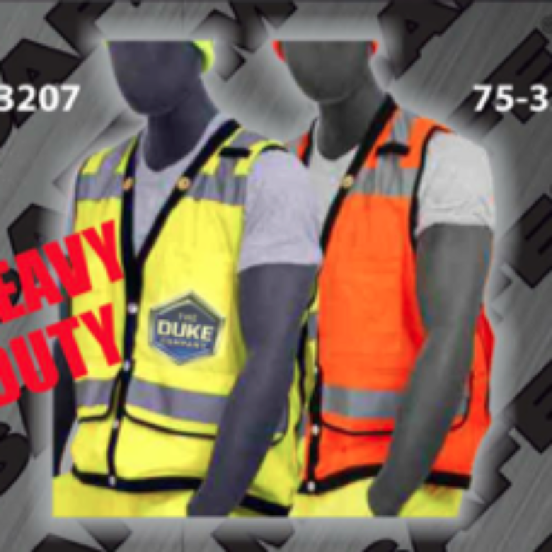 Construction Equipment Rental - Safety Vests