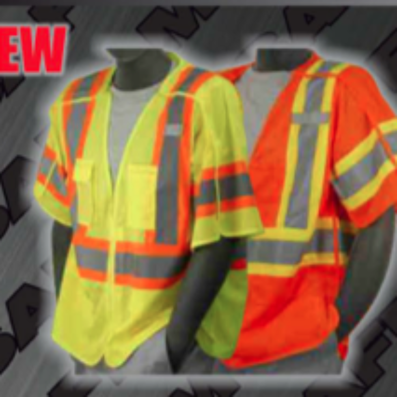 Safety Vests - ANSI Class 3 Break Away Vests