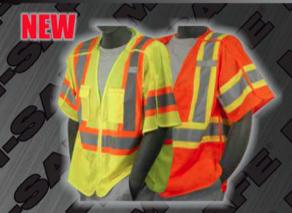 Safety Vests - ANSI Class 3 Break Away