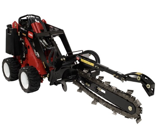 Trencher Rental Attachment - High Speed - Toro Dingo