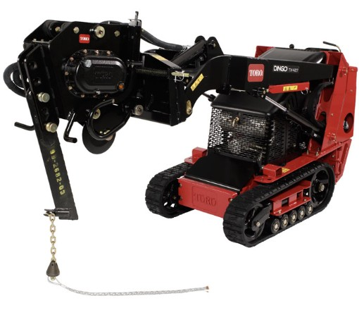Vibratory Plow - Attachment - Toro Dingo