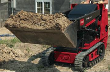 Picture of Toro Dingo Rental Carrying Dirt