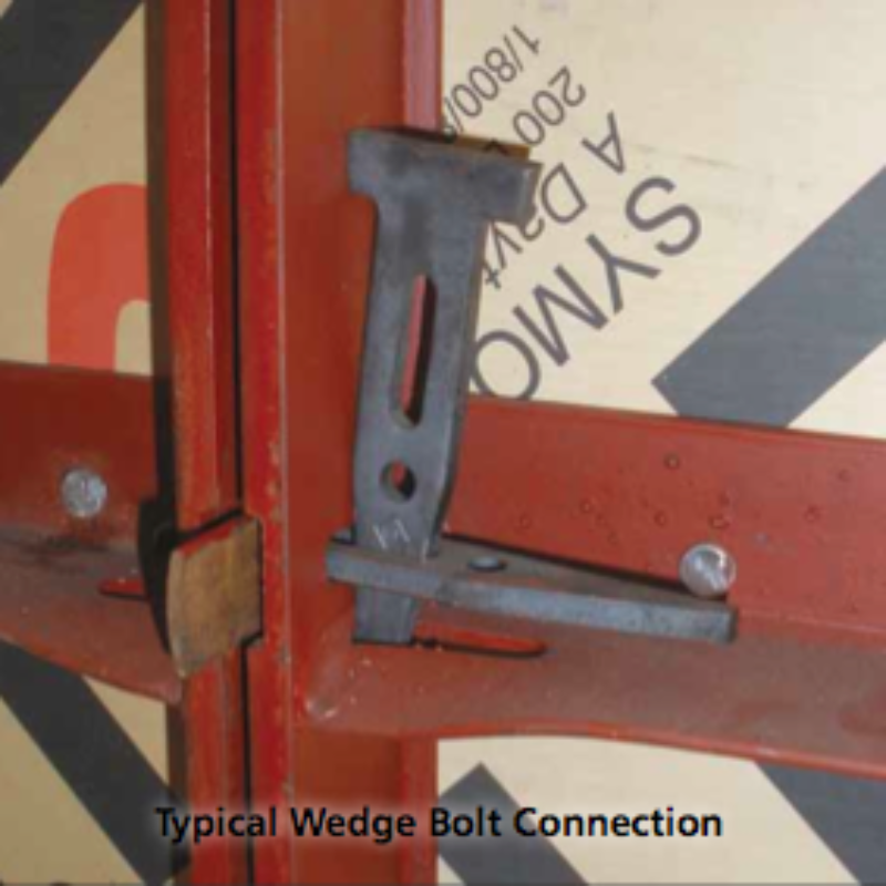 Wedge Bolt Concrete Form Connecting Hardware by Symons