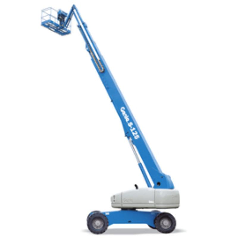 125 Foot Straight Mast Boom Rental – Genie S-125