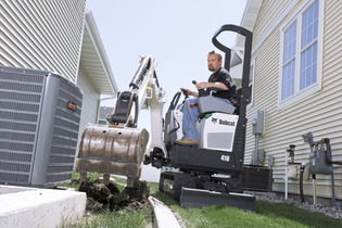 Picture of Bobcat 418 Mini Zero Swing Mini Excavator Rental