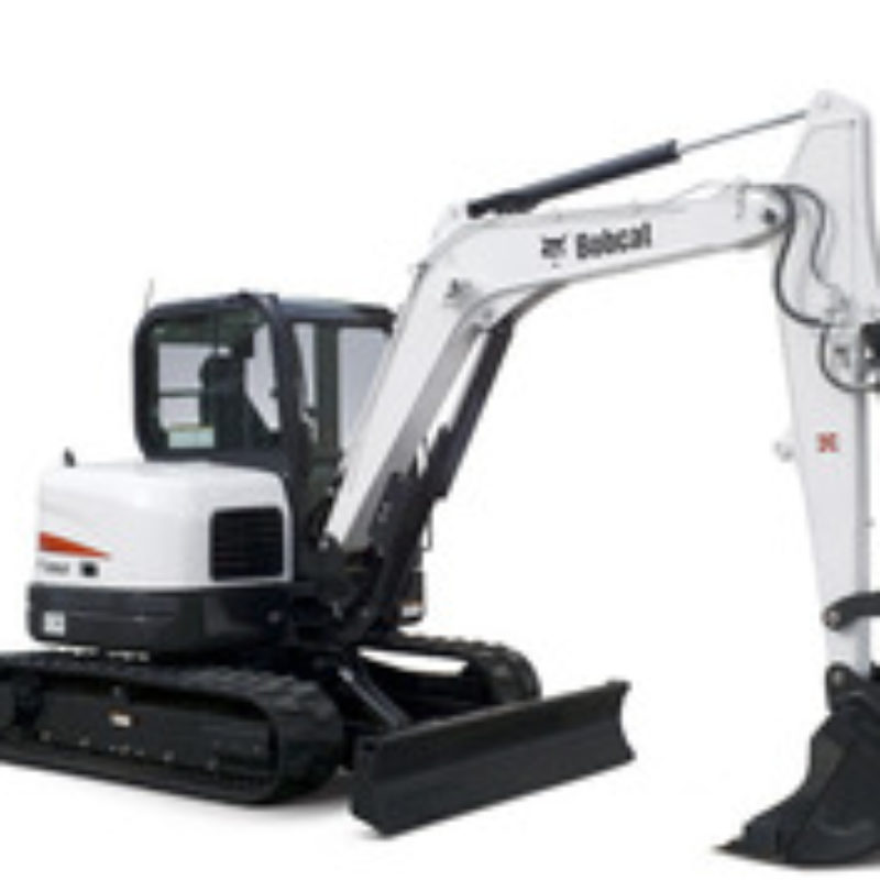 Mini Excavator Rental - Bobcat E63