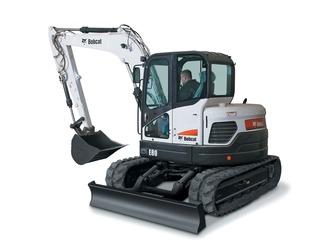 Mini Excavator Rental – Bobcat E80 | THE DUKE COMPANY