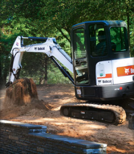 Picture of Bucket Attachment Rental for Bobcat Compact Excavators