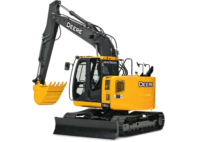 Picture of Excavator Rental - John Deere 135G
