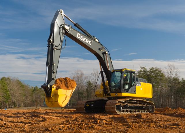 Picture of Excavator Rental - John Deere 290G LC