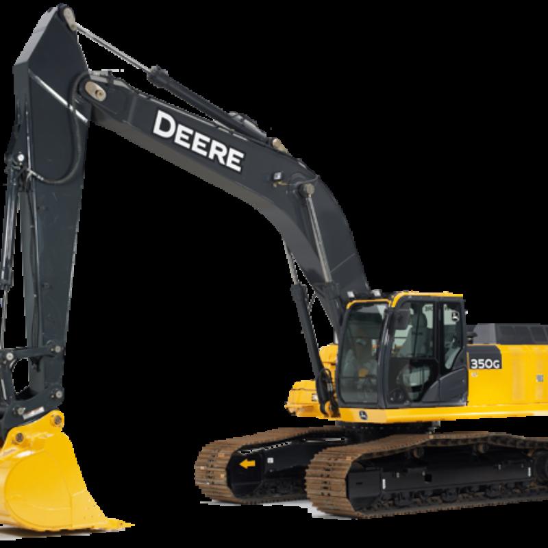 Excavator Rental - John Deere 350G LC
