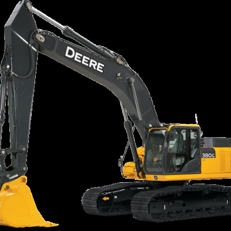 Excavator Rental - John Deere 380G LC