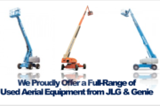 Picture of Genie and JLG Used Striaght Mast Boom Lifts