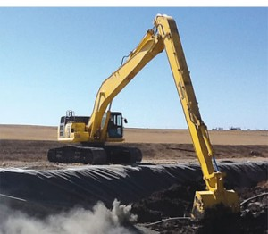 Picture of Rent Excavator - Komatsu - PC 210 LC-10 Super Long Front