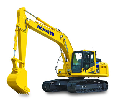 Picture of Rent Excavator - Komatsu - PC 210 LC-10