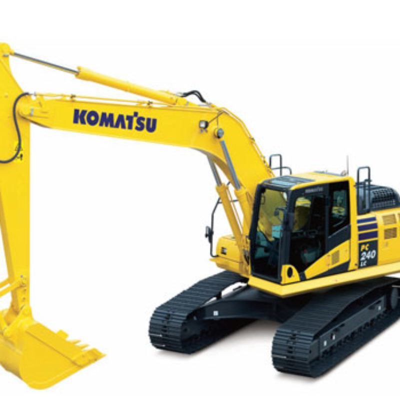 Rent Excavator - Komatsu - PC 240 LC-10