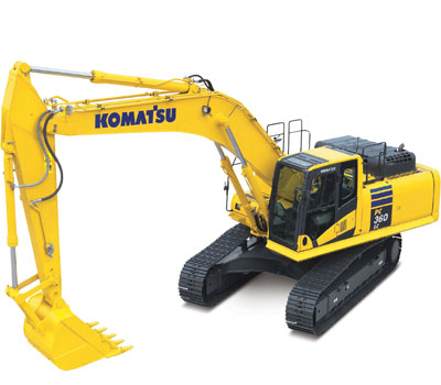 Picture of Rent Excavator - Komatsu - PC 360 LC-10