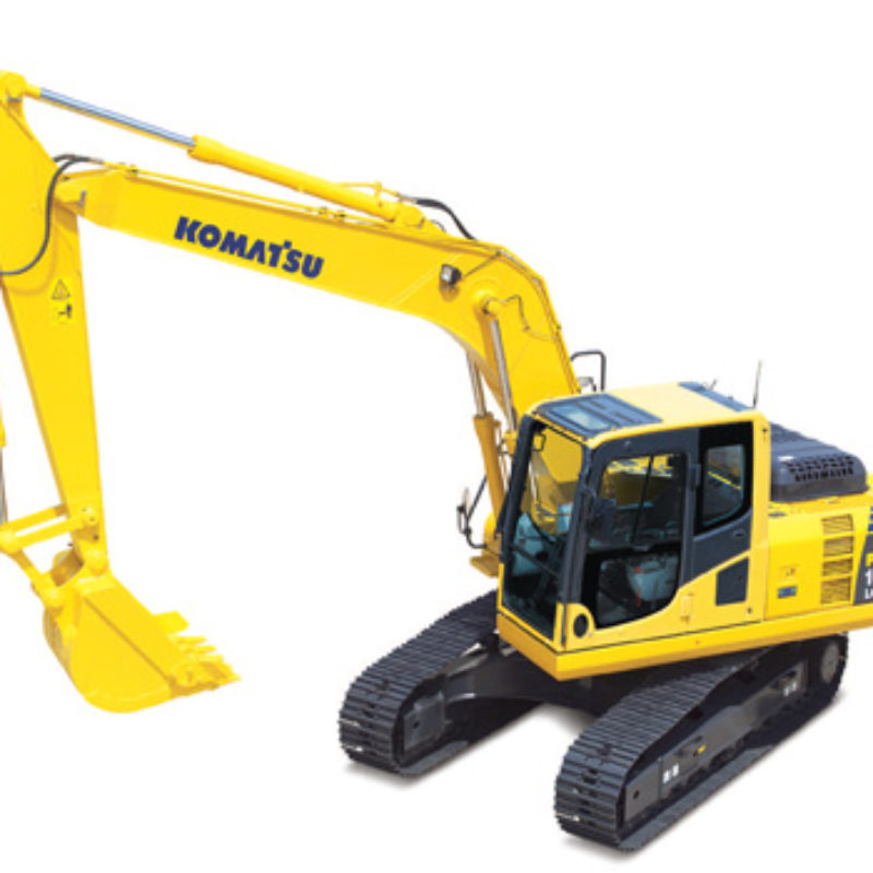Rent Excavator - Komatsu PC 160LC8