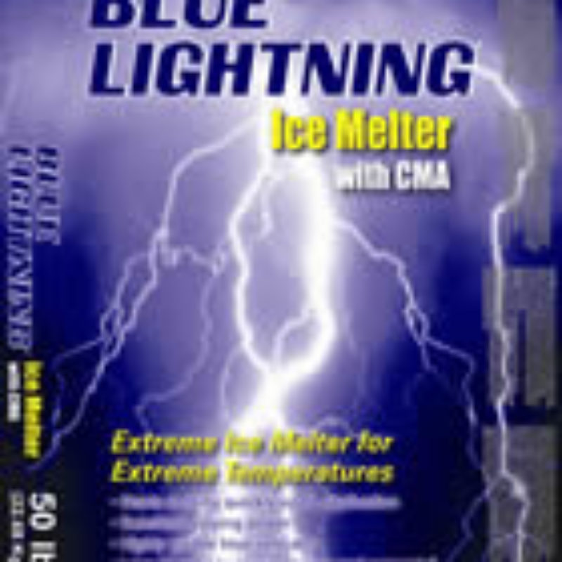 Blue Lightning with CMA Deicing and Ice Melt by Kissner