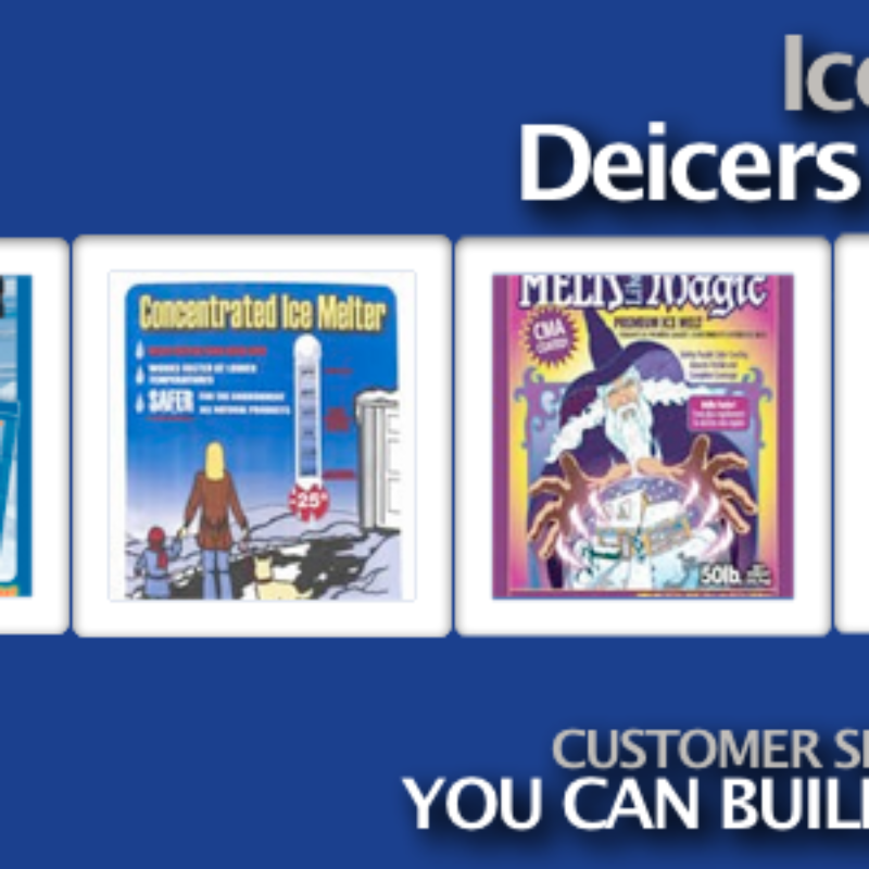 Ice Melt and Deicers