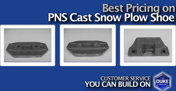 Picture of PNS Cast Snow Plow Shoe