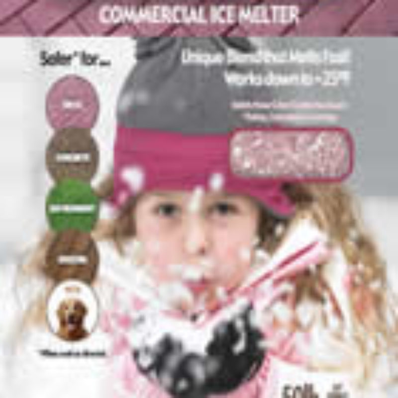 Safer than Salt Commercial Deicer and Ice Melt by Kissner