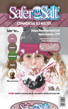 Picture of Safer than Salt Commercial Deicer and Ice Melt by Kissner